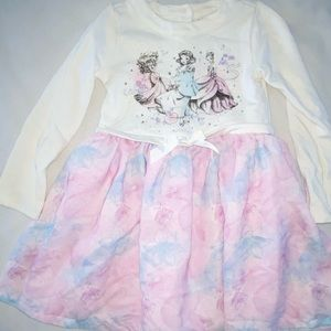 Disney Princess Winter Dress Girls 5/6